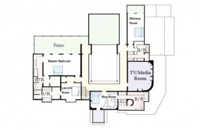 LANDFALL first-floor PLAN 2012